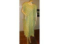 Pollka Dot Linen Dress