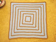Square free crochet pattern