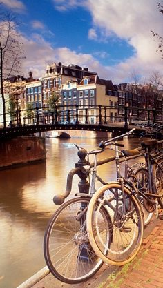 Amsterdam,Holland - ✈ The World is Yours ✈ Been there...wanna tour the world with my hubby next