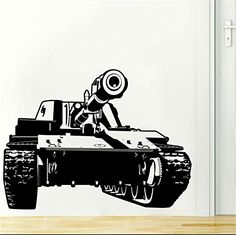 YINGKAI Military Army Tank Living Room Boys Room Vinyl Carving Wall Decal Sticker for Home Window Decoration YINGKAI http://www.amazon.com/dp/B01066UJB2/ref=cm_sw_r_pi_dp_5zC-wb11BWGET