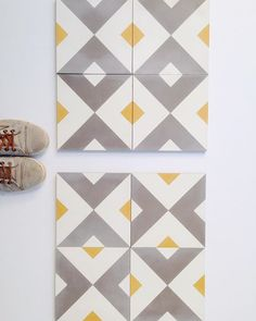 Almost time to set up these beauties in the front yard  so what do you say, match or mismatch?! @cletile #ihavethisthingwithfloors