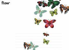 papillons dans Flow