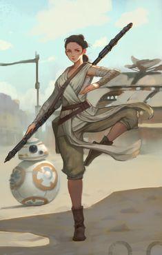ArtStation - Star wars fan art, ㅇㅇ Joo