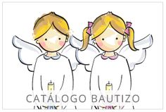 Catálogo Bautizo First Communion Favors, Smurfs, Hello Kitty, Scrapbook, Cartoon, Blog, Character, Gifts, Ideas
