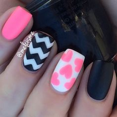 super pretty nail art designs 2016 - style you 7 Chevron Nail Designs, Nail Art Designs 2016, Chevron Nails, Pretty Nail Designs, Pretty Nail Art, Short Nail Designs, Awesome Designs, Pink Gel Nails, Hot Nails