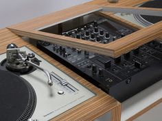 Awesome DizzyJockey DJ Table Lifestyle Furniture by DUAL