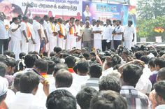 AISMK Party members protest against FDI