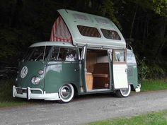 Beautiful split-window Dormobile conversion. Im guessing its a 67. Anyone recognize this pic?