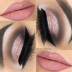 Eye Makeup Tips – How To Apply Eyeliner – Makeup Design Ideas Cute Makeup, Gorgeous Makeup, Glam Makeup, Pretty Makeup, Makeup Inspo, Makeup Inspiration, Hair Makeup, Makeup Ideas, Makeup Shayla