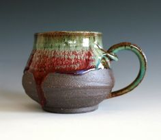 Large Coffee Mug Holds 16 oz handmade ceramic cup by ocpottery, $25.00 I love this cup