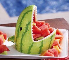 Der Wassermelonen-Hai serviert dir süße Früchtchen