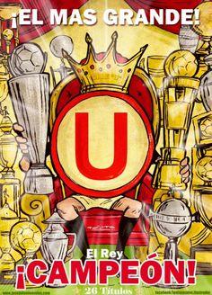 """""""U"""" Universitario de deportes - 26 títulos nacionales"""