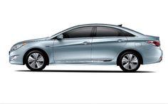 2013 Hyundai Sonata Hybrid Side 2