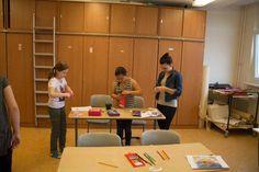 Ostseekinder malen ihr großes Bild   Schnappschüsse vom Malen mit den Ostseekindern (c) Frank Koebsch (6)