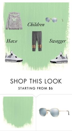 """""""Children Clothing"""" by starchelle0914 on Polyvore featuring H&M, Ray-Ban and NIKE"""