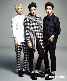 JYJ - Marie Claire Korea, August 2014 Issue