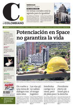 Nuestra #PortadaEC 11 de junio de 2014.