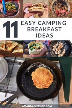 Camping Meal Planning, Best Camping Meals, Camping Menu, Camping Stove, Camping Tips, Camping Cooking, Camping Dishes, Best Food For Camping, Dinner Ideas For Camping