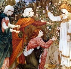 Easter Morning, Edward Burne-Jones