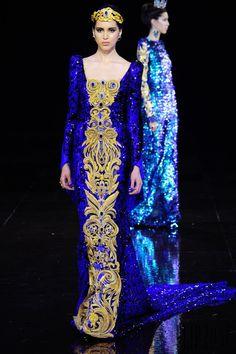 Guo Pei Automne-hiver 2016-2017 - Haute couture
