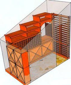 Wine Room in Closet by RSF Wine Cellar Builder