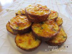 Sweet Little Ones: Crustless Quiche with Veggie Mix-ins