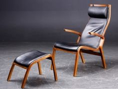 Danish Armchair & Footstool. Danish Armchair, Dining Chairs, Furniture, Home Decor, Decoration Home, Room Decor, Dining Chair, Home Furniture, Interior Design