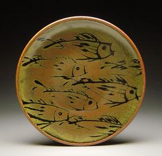 Plate by McKenzie Smith Pottery, via Flickr