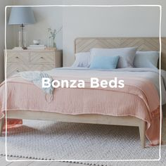 Beds for sleepyheads. Our handmade homage to life in the slow lane! White Bed Sheets, White Bedding, French Bed, House On The Rock, Upholstered Beds, Great Night, Bed Storage, Master Bedroom, Contemporary