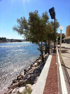 by the River Palms Casino River Walk, Homeland, Palms, Railroad Tracks, Nevada, Sidewalk, Community, Palmas, Side Walkway