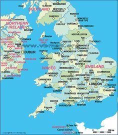world map england
