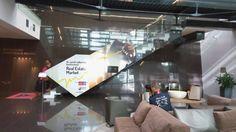 polep skla, tlač samolepky  #tlač #polep #fólia #sklo #schodisko