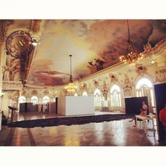 Gran Teatro de la Habana durante la 11na Bienal.