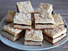 Sweet Recipes, Cake Recipes, Czech Recipes, Creative Cakes, Naan, Crafts For Kids, Deserts, Food And Drink, Yummy Food