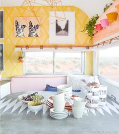 Vintage Camper Makeover - Cute Trailer Before and After - Redbook