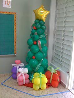 Navidad Globos decoracion (17)
