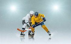 Download wallpapers hockey concepts, ice, hockey stadium, hockey players