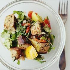 End Of Summer Panzanella (via www.foodily.com/r/GgAtniVPc-end-of ...