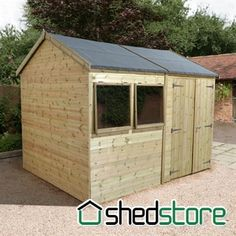 Shed-Plus Champion Heavy Duty Champion 20x10 Rev Apex Shed