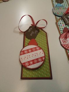 Tags card Natale 2016