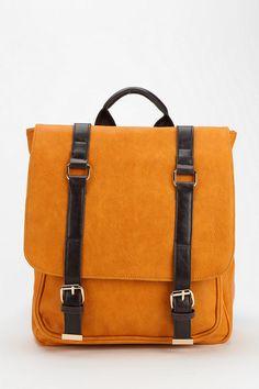 BDG Structured Strap Vegan Leather Backpack 39.00