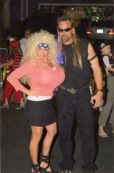 cool dog the bounty hunter and beth costume lol pinterest