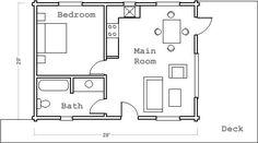 floorplan with guest house   currant ridge cabin floor plan