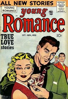 Cover for Young Romance (Prize, 1947 series) #v12#6 [102]