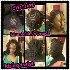 My crochet kinky twist ..inspired by @teeday6 love it!!