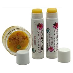 Lip Balm – 0.33 fl.oz – 96% Organic – USDA Organic Certified The benefits of an organic all natural lip balm are so many! Most importantly – no toxic chemicals get in your mouth!  We think this luscious lip balm is the best lip balm on the market. It soothes and heals dry and chapped lips, protects from dehydration and the harsh elements and keeps your lips looking happy and healthy. Can be used as a lip-gloss.