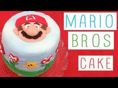 Fashion Cooking : Mario Bros Cake