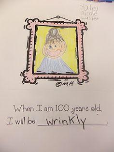 cute 100 day idea