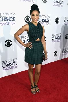 kelly mccreary at the 2015 people's choice awards. #peopleschoice