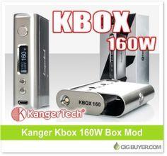 Kanger Kbox 160W Box Mod – $34.99: http://www.cigbuyer.com/kanger-kbox-160w-box-mod/ #ecigs #vaping #kanger #kangertech #kbox160w #vapelife #vapedeals